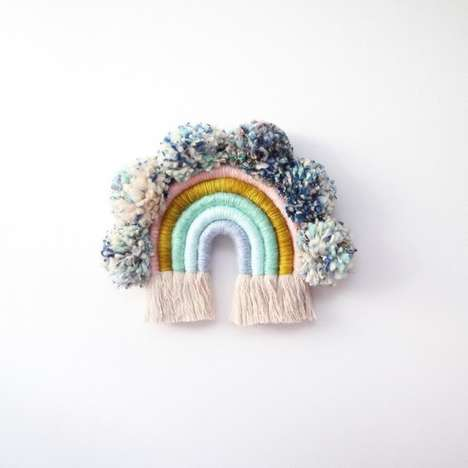 Handmade Rainbow Wall Art