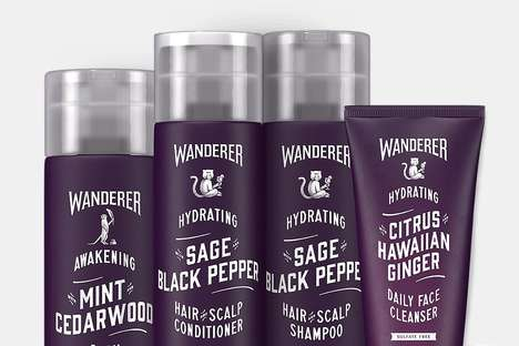 Fragrant Men's Bathing Products - The DSC Wanderer Shower Collection Offers Unique Scent Pairings