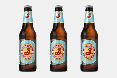 Adventurous Refreshing Beers - The Brooklyn Summer Ale Was Made To Enjoy in the Warm Weather