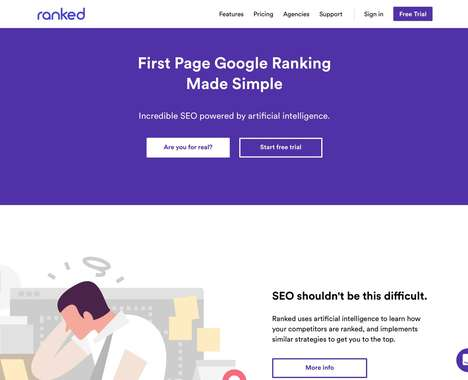 Trend maing image: AI-Powered SEO Services