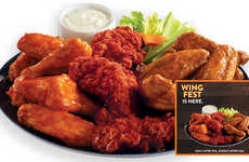 Celebratory Chicken Wing Promotions - Golden Corral Wing Fest Offers All-You-Can-Eat Wings