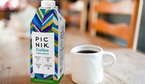 Butter-Infused Coffee Creamers - The Picnik Coffee Creamer Works Well in Hot or Cold Coffees