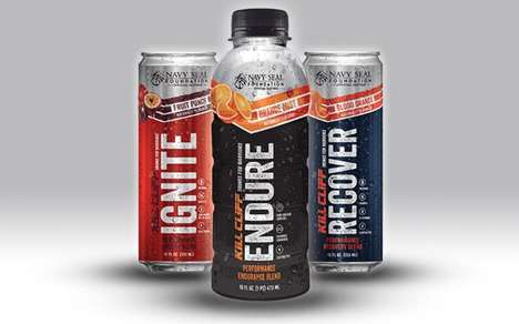 Supplemental Clean Energy Drinks - The Kill Cliff Ignite Energy Drink Gets You Ready to Work Out