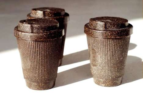 Coffee Ground Takeaway Cups