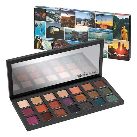 Adventure-Inspired Eyeshadow Palettes - Urban Decay's New Born to Run Palette is Perfect for Travel