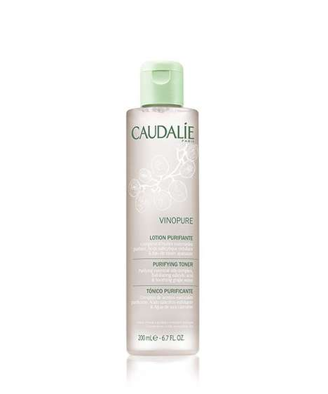 Natural Essential Oil Toners - Caudalie's New Vinopure Purifying Toner Gently Preps and Cleanses