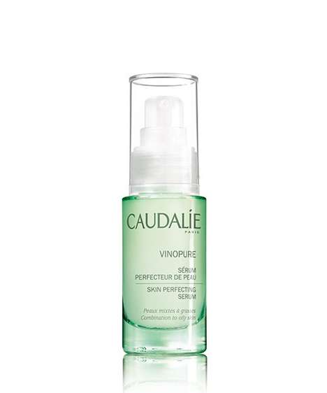 Glow-Enhancing Essential Oil Serums - Caudalie's Vinopure Skin Perfecting Serum Tightens Pores