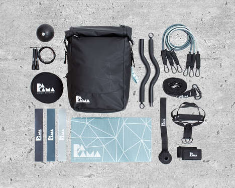Gym Equipment Backpacks