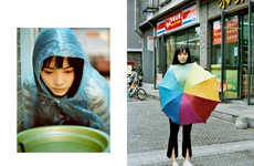 Candid Rainy Day Editorials - The Ones 2 Watch 'You Could Be Anyone' Series is Unstaged