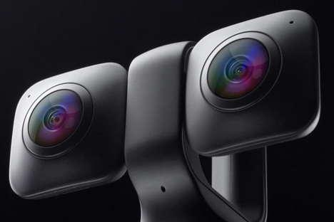 Compact 360-Degree Cameras