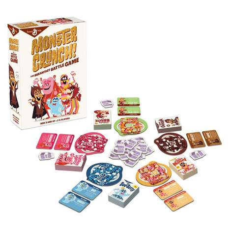 Breakfast Cereal Card Games