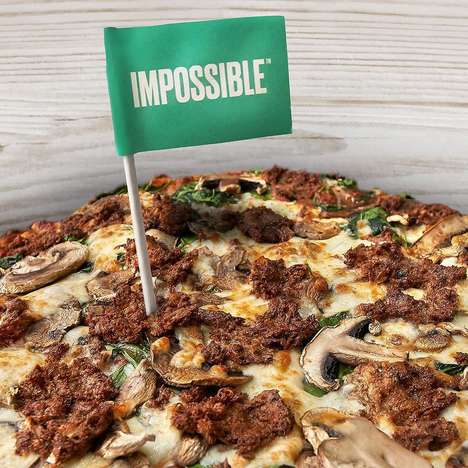 Plant-Based Meat Pizzas - The Newest Fresh Brothers Pizza Features Vegan Meat from Impossible Foods