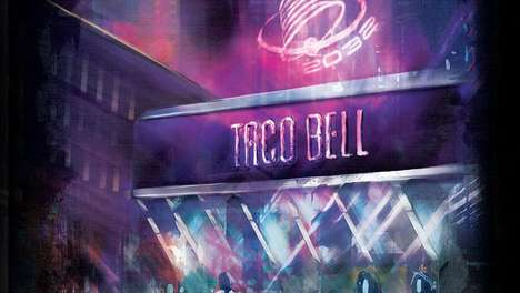 The Futuristic Taco Bell From Demolition Man Was Seen at SDCC