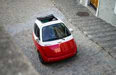 Compact Electric Round Cars