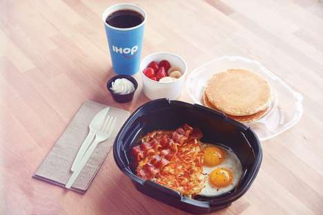 Pancake Delivery Services - IHOP is Celebrating 60 Years by Launching a Delivery Service