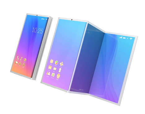 Adaptable Foldable Phone Devices