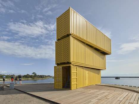 37 Architectural Shipping Container Uses - From Upcycled Sports Centers to Deliverable Pre-Fab Homes