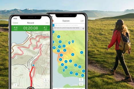 Informative Trail Map Apps
