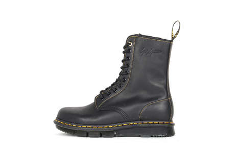 Collaboratively Designed Combat Boots - Yohji Yamamoto & Dr. Martens Joined to Update the 1490 Boot