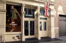 Experiential Menswear Shops