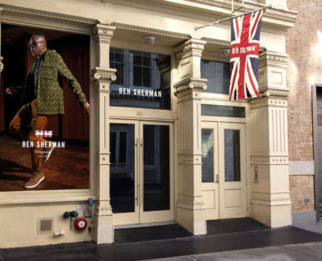 Trend maing image: Experiential Menswear Shops