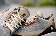 Vegetable-Tanned Leather Sneakers