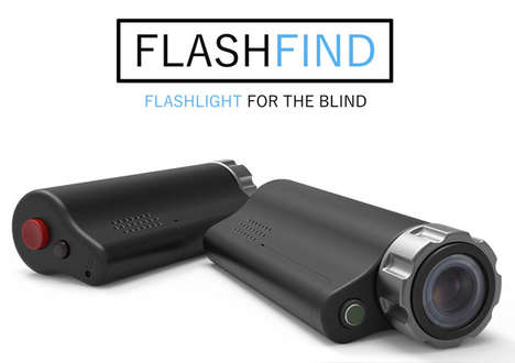 Item-Locating Flashlights
