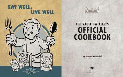 Video Game-Inspired Cookbooks