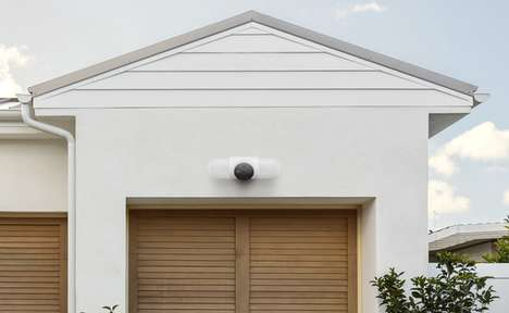 Facial Recognition Security Lights