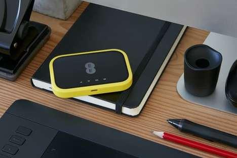 Compact Telecom Hotspot Devices