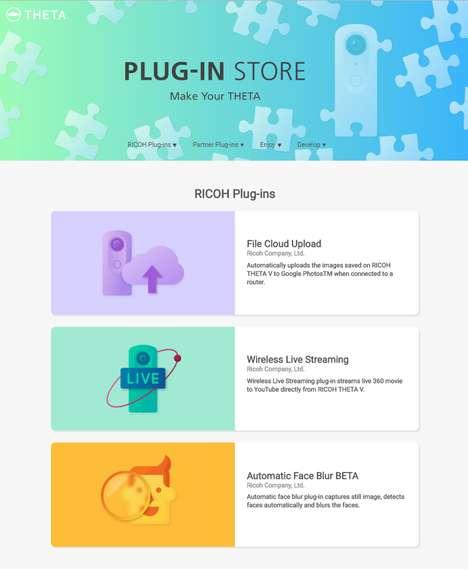 Camera Plug-In Stores