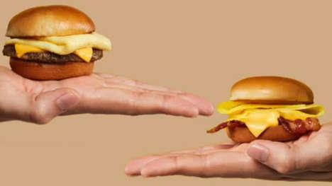 Miniature Morning Slider Sandwiches