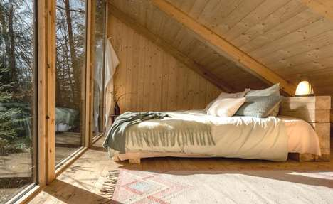 Hidden Wooden Cabins - The Stedsans Hotel Offers 15 Inspiring Retreats in the Heart of a Forest