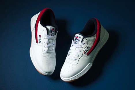 Varsity-Themed Sneakers