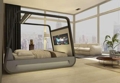 Digital Lifestyle-Accommodating Beds
