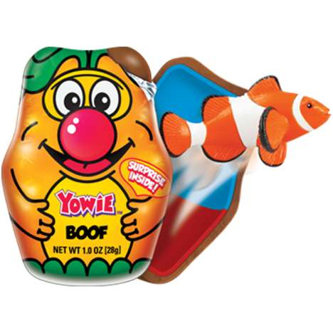 Collectible Conservation Chocolates - Yowie's Chocolate Rescue Series Contains Animal Figurines