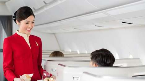 Ultra-Luxurious In-Flight Services