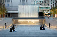Community-Focused Piazza Stores - The Apple Milan Store Features a Gorgeous Public Piazza
