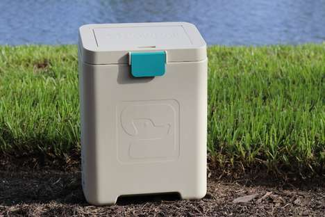 Canine Waste-Collecting Cannisters