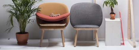 Flat-Packed Leather Chairs