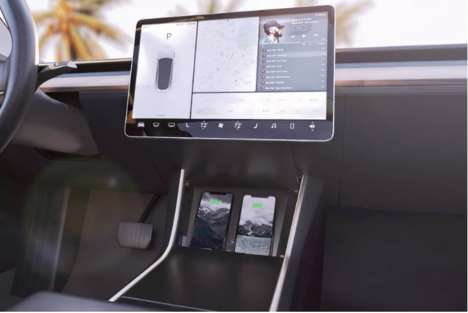In-Car Wireless Charging Pads