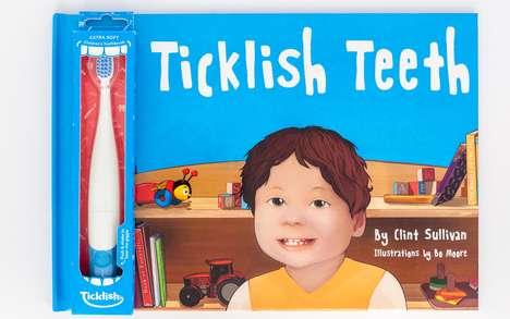 Motion-Sensing Giggling Toothbrushes