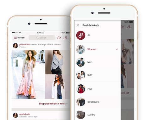 Multi-Marketplace Fashion Apps