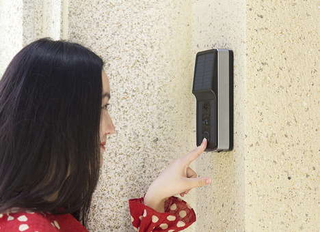 Solar-Powered Smart Doorbells