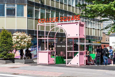 Community-Enhancing Modular Spaces - Fiona Hartley and Ellie Fox Johnson Make Croydon More Sociable