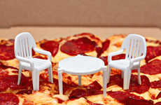 Humorous Miniature Patio Sets