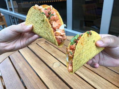 Crunchy Crayfish Tacos