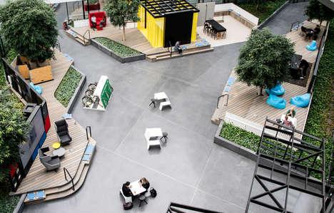 Communal Open Workspace Designs