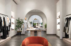 Bicoastal Fashion Retail Interiors - Janson Goldstein References Brand ALC's Ethos for This Store