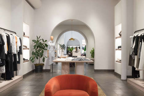 Bicoastal Fashion Retail Interiors